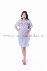 Baju Hamil Dress Hamil JUMBO Marry   DRO 841 5  large