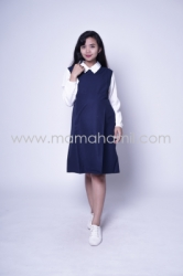 Baju Hamil Dress Hamil Menyusui Office Riana Dress    DRO 880 9  large