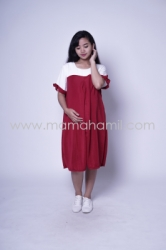 Baju Hamil Dress Hamil Menyusui Sabrina Chearly Dress   DRO 881 1  large