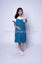 Baju Hamil Dress Hamil Menyusui Sabrina Chearly Dress   DRO 881 17  large