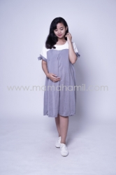 Baju Hamil Dress Hamil Menyusui Sabrina Chearly Dress   DRO 881 21  large