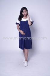 Baju Hamil Dress Hamil Menyusui Sabrina Chearly Dress   DRO 881 9  large