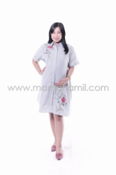 Baju Hamil Dress Hamil Modis Menyusui Jumbo   DS 842 15  large