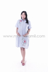 Baju Hamil Dress Hamil Modis Menyusui Jumbo   DS 842 19  large
