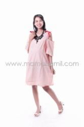 Baju Hamil Dress Hamil Pita Stripped Menyusui Micel   DRO 836 13  large