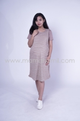 Baju Hamil Dress Hamil Simple Modis Kaos Vivi Dress   DRO 833 1  large