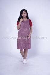 Baju Hamil Dress Hamil Simple Modis Kaos Vivi Dress   DRO 833 13  large