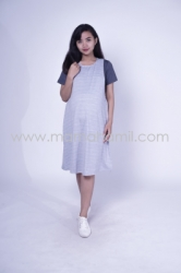 Baju Hamil Dress Hamil Simple Modis Kaos Vivi Dress   DRO 833 5  large