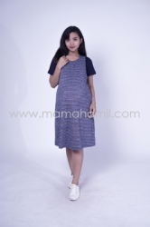 Baju Hamil Dress Hamil Simple Modis Kaos Vivi Dress   DRO 833 9  large