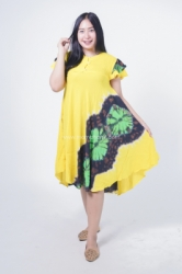 Dress Hamil Daster Tidur Payung Katun Motif Pelangi Eska Dress   DS 493 5  large