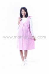 Dress Hamil Menyusui Candy Dress Overall Pita Manis   DRO 843 5  large