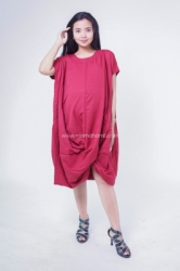 Dress Ibu Hamil Menyusui Kaftan SIlang Kaftania Dress   DRO 930 13  large