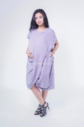 Dress Ibu Hamil Menyusui Kaftan SIlang Kaftania Dress   DRO 930 2  large