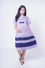 Dress Ibu Hamil Pita Dada 2 Tone Raina Dress   DRO 948 9  medium