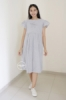 MAMA HAMIL Alice Dress Hamil Menyusui Stripe Simple Casual Formal Cloth   DRO 1002 7  medium