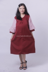 MAMA HAMIL DRESS HAMIL MENYUSUI MODIS CANTIK KATTY DRESS   DRO 918 1  large