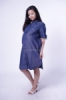 Terlaris Dress Hamil Menyusui Denim Full Kancing   DRO 745  6  medium