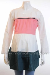 baju hamil muslim bordir candy peach  BLJ 328 5  large