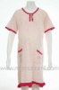 dress hamil kaos polkadot pink   DS 19  medium