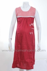 dress menyusui kutung pita merah  DRO 476 1  large
