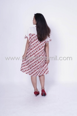 Baju Hamil Dress Hamil Menyusui Batik Modis Gabriela Batik Dress - BTK 152