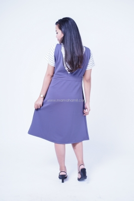 Dress Hamil Overal Hamil Menyusui Zara Dress - DRO 744