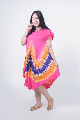 Dress Hamil Daster Katun Payung Corina Dress - DS 488