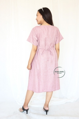 Candy Sweety Dress Button Busui Friendly Casual - DRO 986