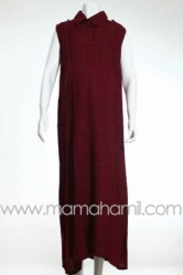 long dress krah marun   DRO 280  large