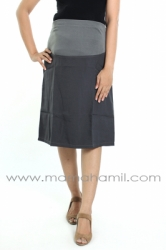 rok hamil pendek formal abu  RHK 16 1  large