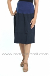 rok hamil pendek formal biru  RHK 16 1  large