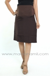 rok hamil pendek formal coklat  RHK 16 1  large