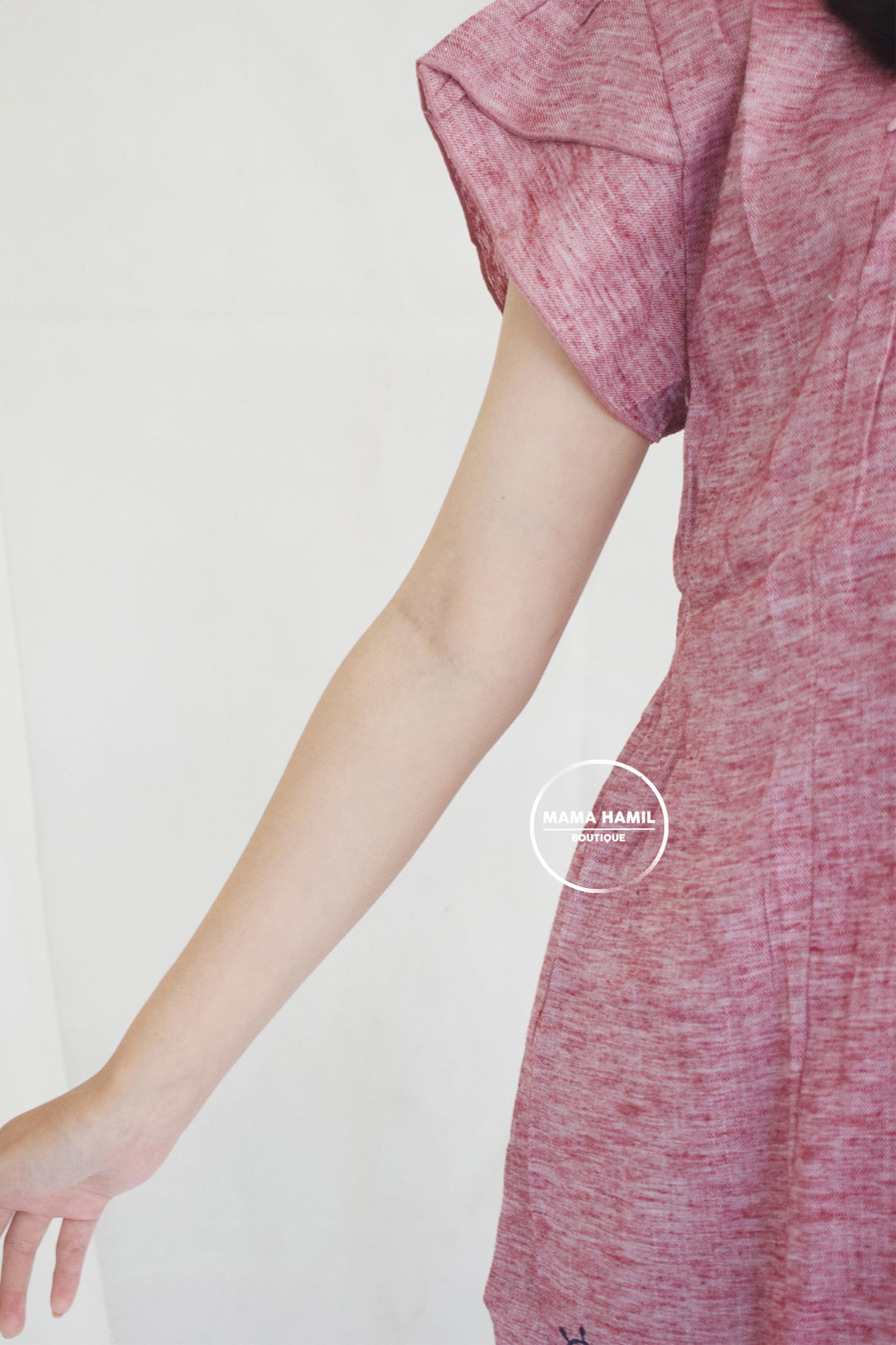 Atasan Baju Hamil Menyusui Motif Bordir Simple Lucu Olivia ...
