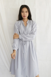 MAMA HAMIL Honey Dress Baju Hamil Menyusui Katun Oversized Jumbo Modis Elegant Polos Nyaman Simple Katun   DRO 1016 2  large